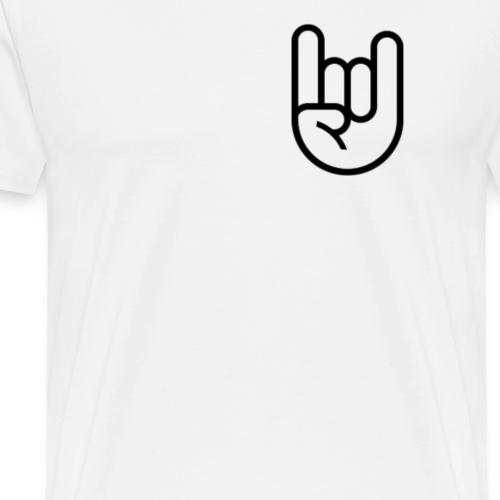 Rock hand - Mannen Premium T-shirt