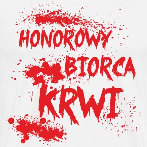 Honorowy Biorca Krwi - Koszulka męska Premium