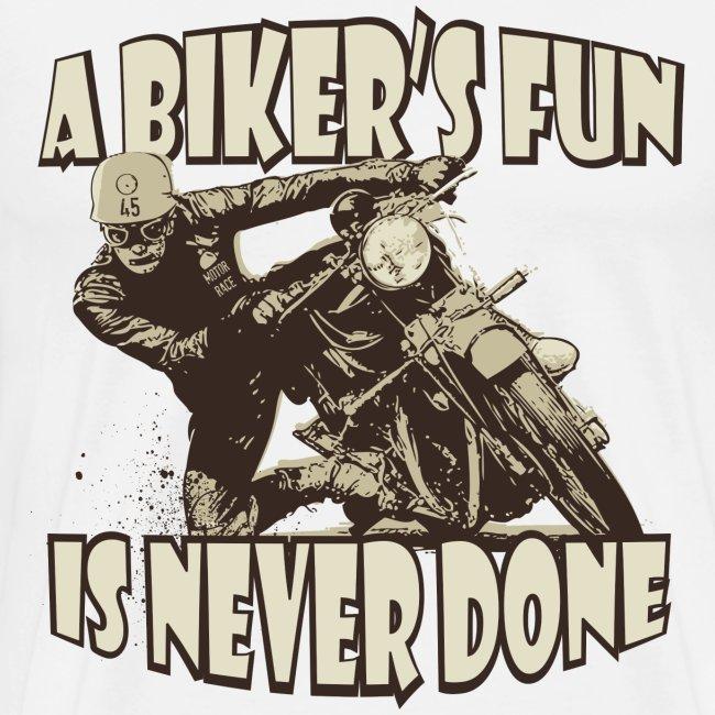 a bikers fun