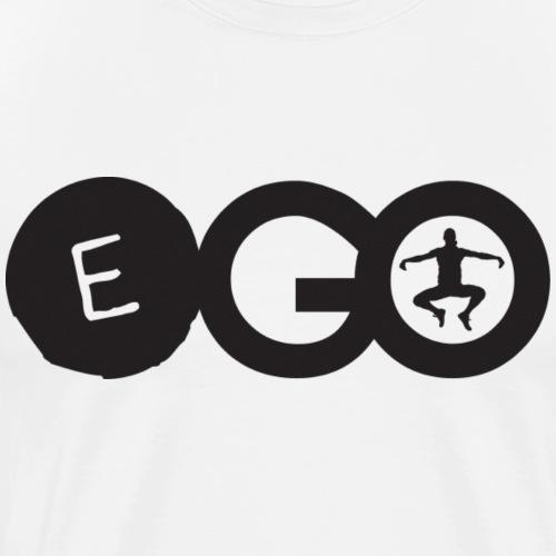 EGO logo in black - Men's Premium T-Shirt