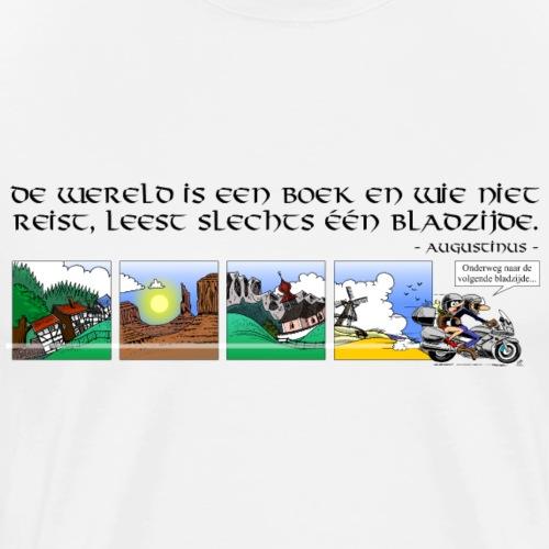 travel NEDERLANDS - Mannen Premium T-shirt