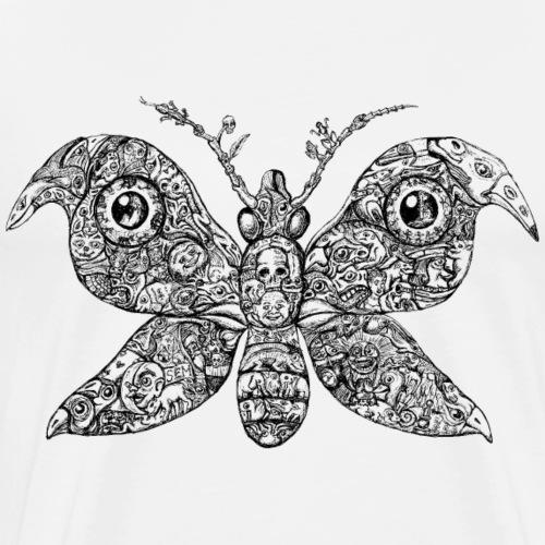 Sammelsurium - Schmetterling/Butterfly - Männer Premium T-Shirt