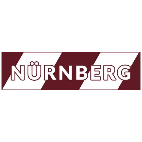 Nürnberg rot / weiß - Männer Premium T-Shirt