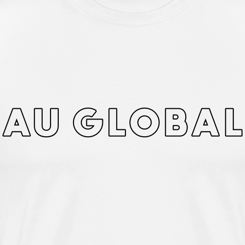 Au Global - T-shirt Premium Homme
