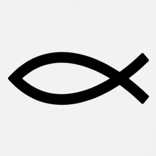 Ichtus - Christianisme - T-shirt Premium Homme