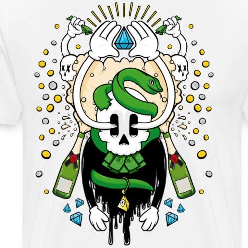 Greed, Money, Fame, Bling - Men's Premium T-Shirt