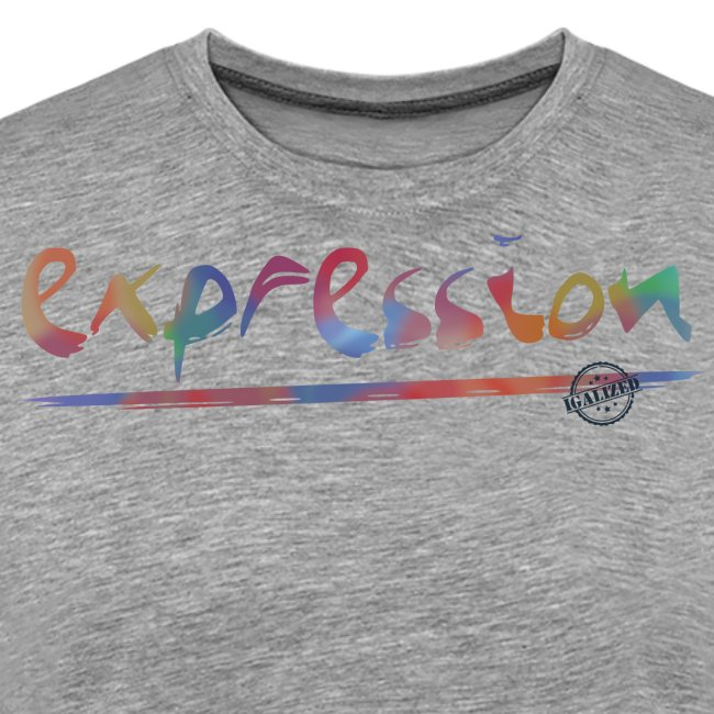 Expression typography