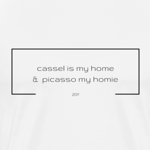 cassel is my home & picasso my ... - Männer Premium T-Shirt