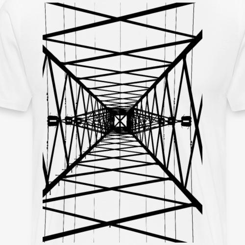 Hochmast schwarz - Männer Premium T-Shirt