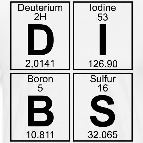 D-I-B-S (dibs) - Men's Premium T-Shirt