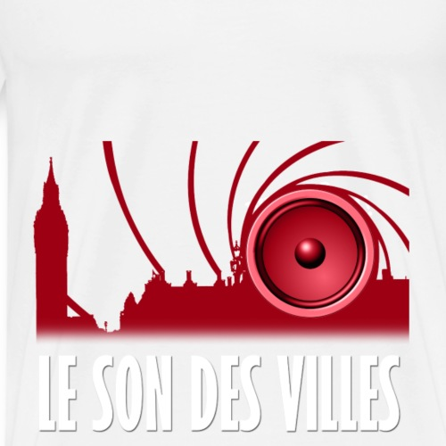 Le Son Des Villes : Sound in the city - T-shirt Premium Homme