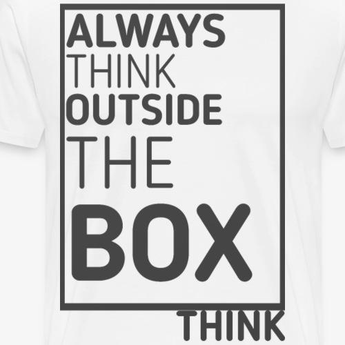Think outside the box - Men's Premium T-Shirt