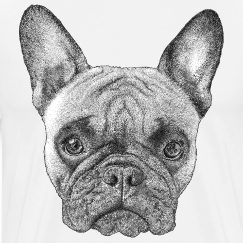 French Bulldog - T-shirt Premium Homme