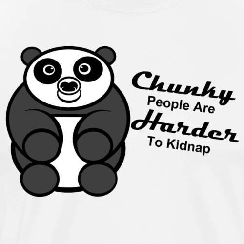 Chunky Panda - Men's Premium T-Shirt