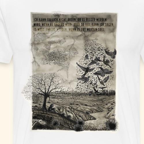 Resonanz - Imagination Veränderung - Männer Premium T-Shirt