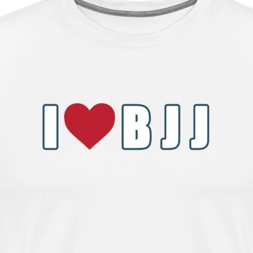 i love bjj - Koszulka męska Premium