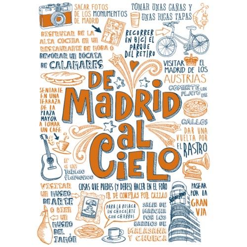DE MADRID AL CIELO - Camiseta premium hombre