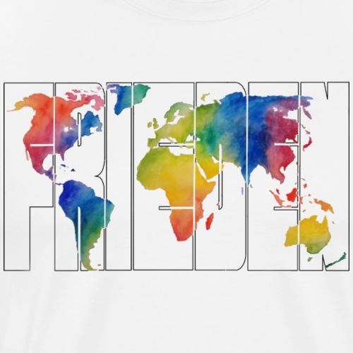 Weltfrieden 1.5 - Männer Premium T-Shirt