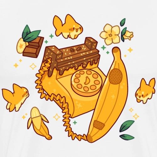 Banana Phone - Männer Premium T-Shirt