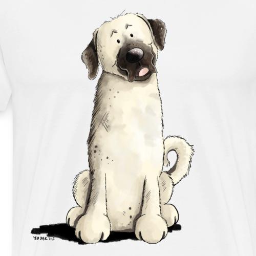 Lustiger Kangal I Comic Hund - Männer Premium T-Shirt