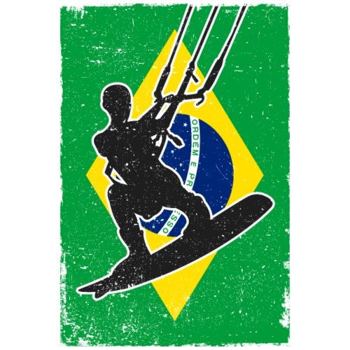 Kitesurfen - Brasilien - Männer Premium T-Shirt