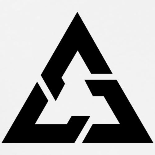Angle Logo Brand - Maglietta Premium da uomo