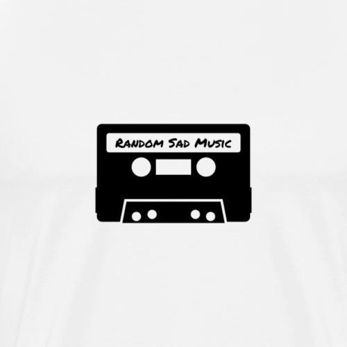 Random Sad Music - Maglietta Premium da uomo
