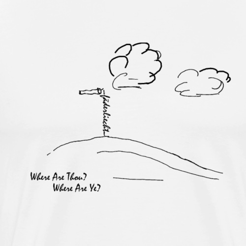 Where are thou – Paraglider? - Männer Premium T-Shirt