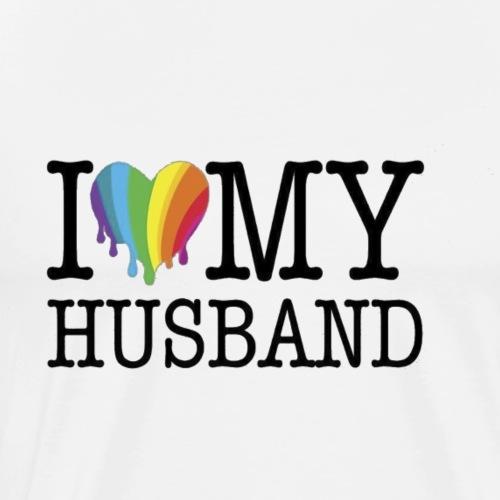 law husband 1c - Men's Premium T-Shirt