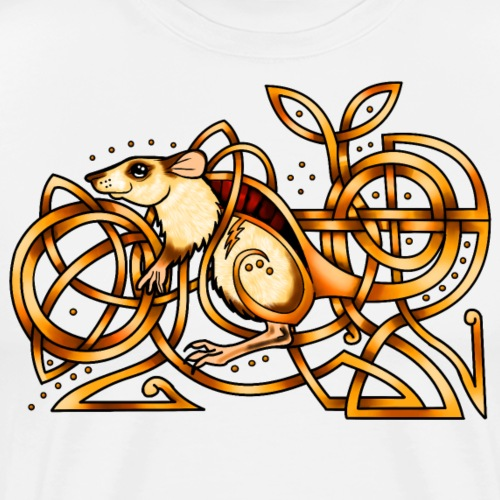 Celtic Rat - Men's Premium T-Shirt