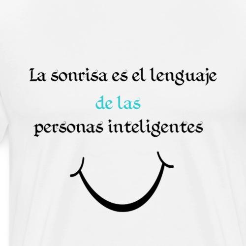 Sonrisa - Camiseta premium hombre
