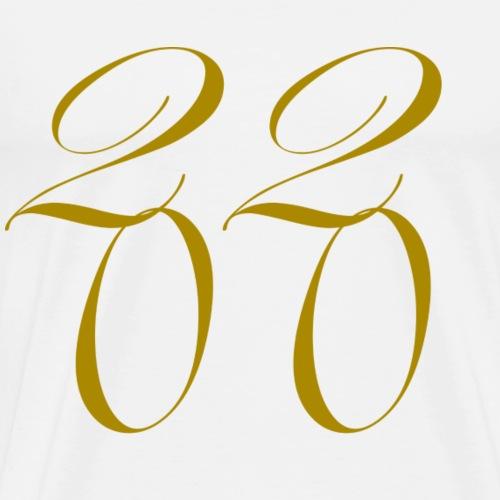 2020 OR Fin - T-shirt Premium Homme