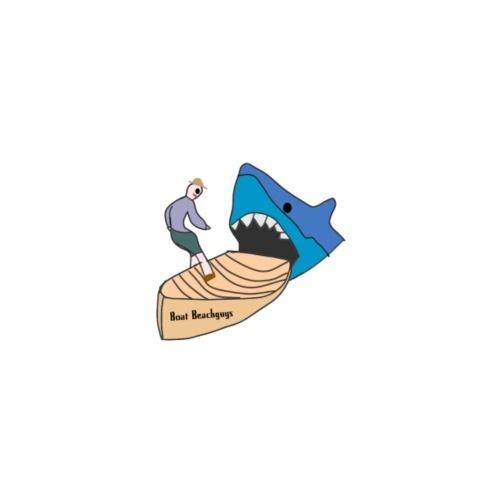 boat attack! - Mannen Premium T-shirt