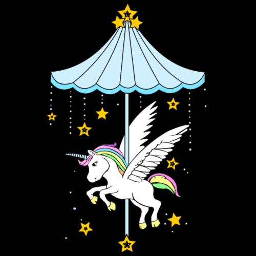 Unicorn Carousel - Men's Premium T-Shirt