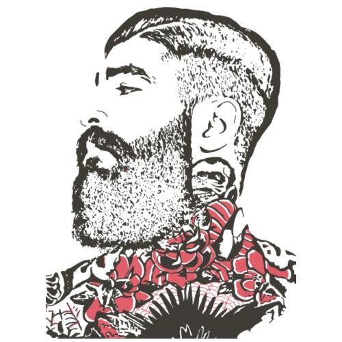 Heavy-ink-farge - Premium T-skjorte for menn