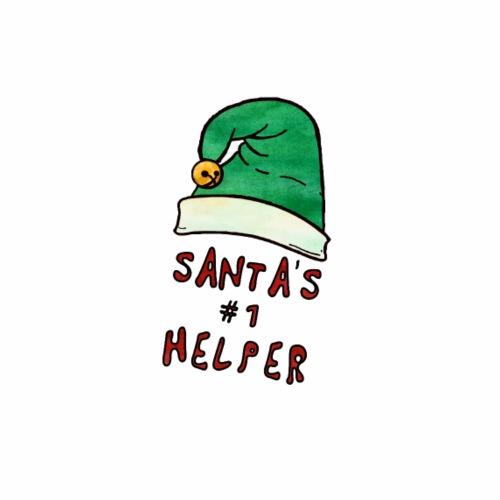 Santas no 1 helper - Men's Premium T-Shirt