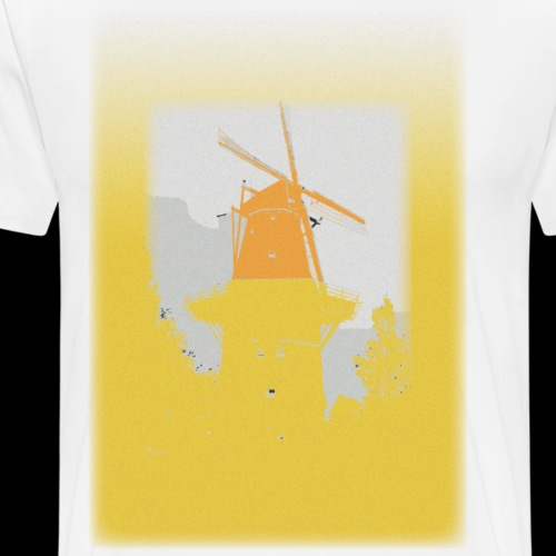 Mills yellow - Men's Premium T-Shirt