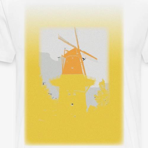 Mills yellow - Maglietta Premium da uomo