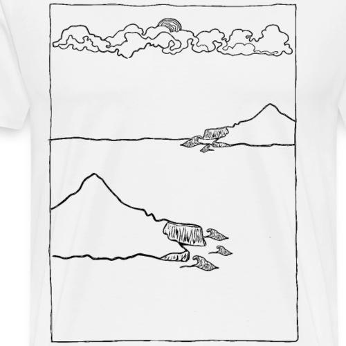 Cloudandwater - Männer Premium T-Shirt