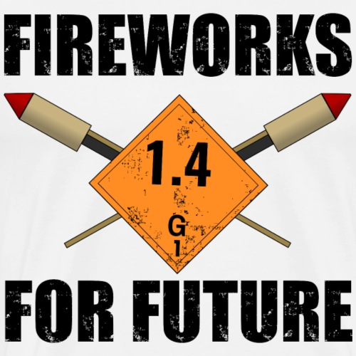 Fireworks for Future Pyro - Männer Premium T-Shirt