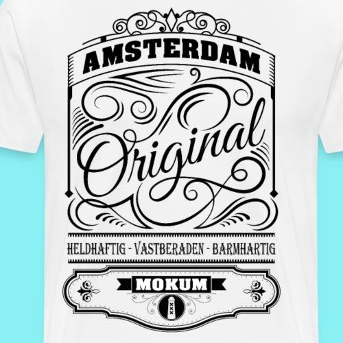 Amsterdam Mokum black - Mannen Premium T-shirt