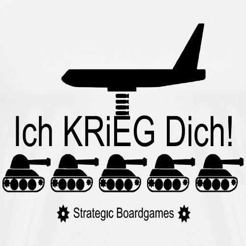 Strategic Boardgames - Männer Premium T-Shirt