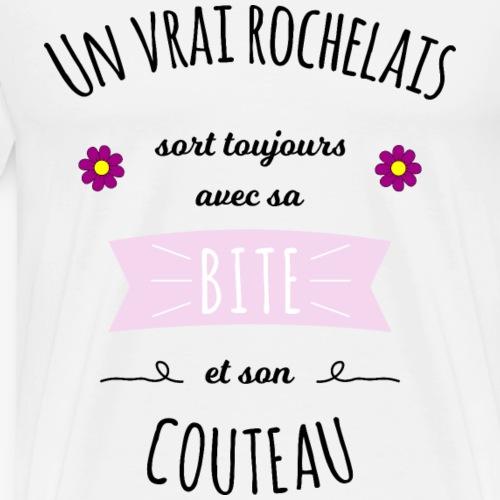 Proverbe rochelais - T-shirt Premium Homme