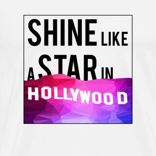 Shine like a star - Maglietta Premium da uomo