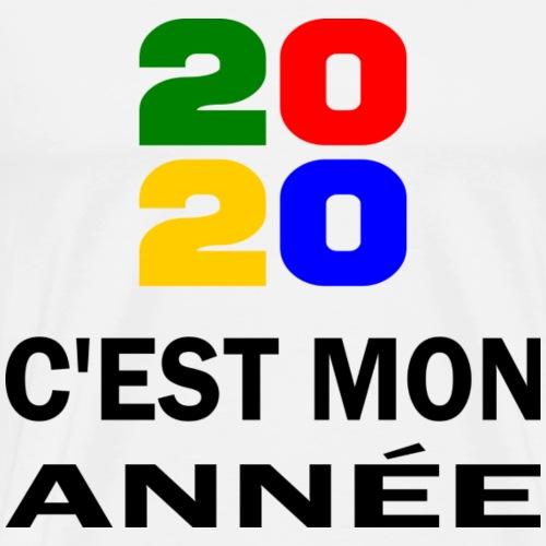 2020 Mon année - Men's Premium T-Shirt