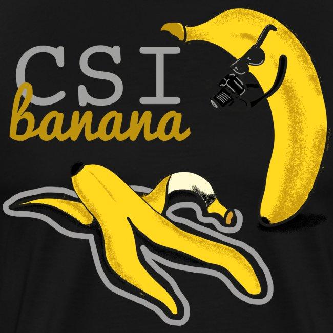 banana scena del crimine
