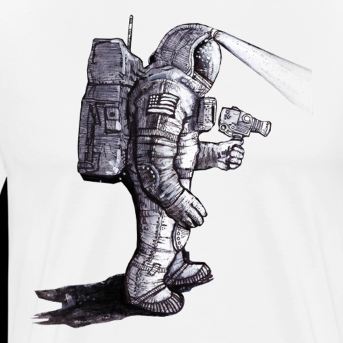 Lost Astronaut - Men's Premium T-Shirt