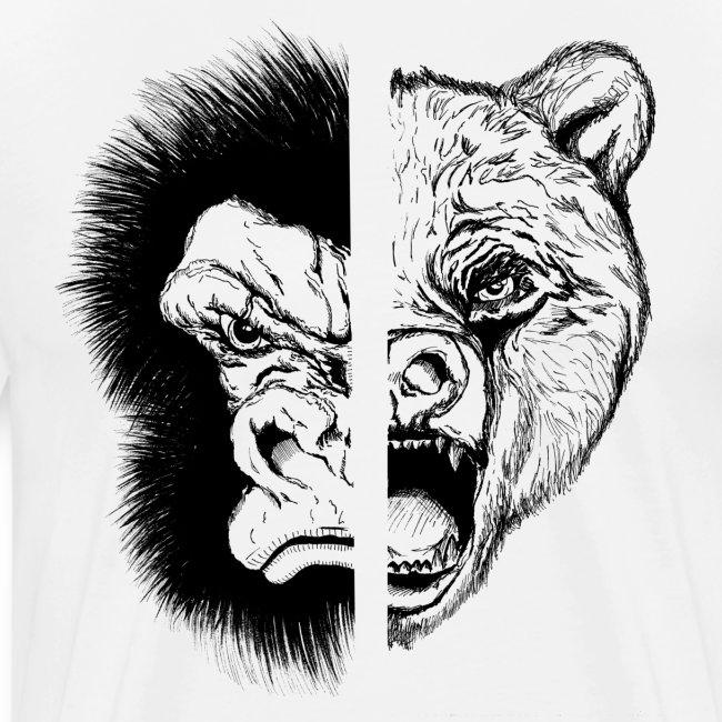 Gorilla Vs Bear