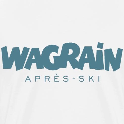Wagrain Après-Ski Wintersport (Blau) - Männer Premium T-Shirt