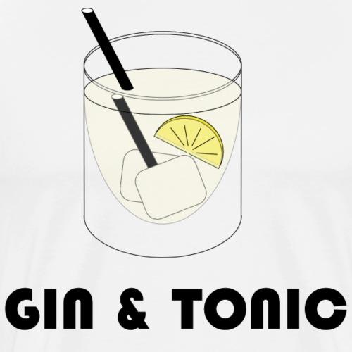 Gin & Tonic - Männer Premium T-Shirt
